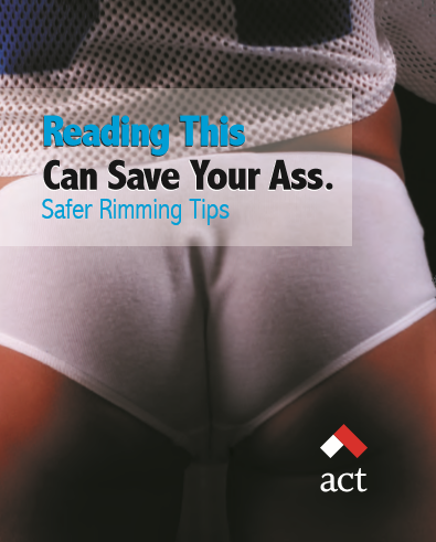 Reading This Can Save Your Ass: Safer Rimming Tips Image