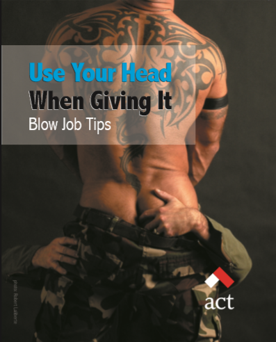 Use Your Head When Giving It: Blow Job Tips [10 per package] Image