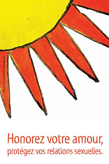 Honorez votre amour, protégez vos relations sexuelles (Série Renseignez-vous pour Jeunes Autochtones) [Postcard] Image