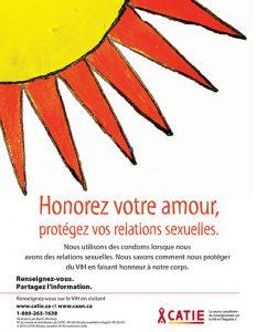 Honorez votre amour, protégez vos relations sexuelles (Série Renseignez-vous pour jeunes Autochtones) [Poster] Image