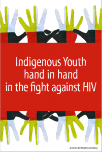 Indigenous Youth hand in hand in the fight against HIV (Get the Facts Indigenous Youth Series) [Postcard, 10 per package] Image