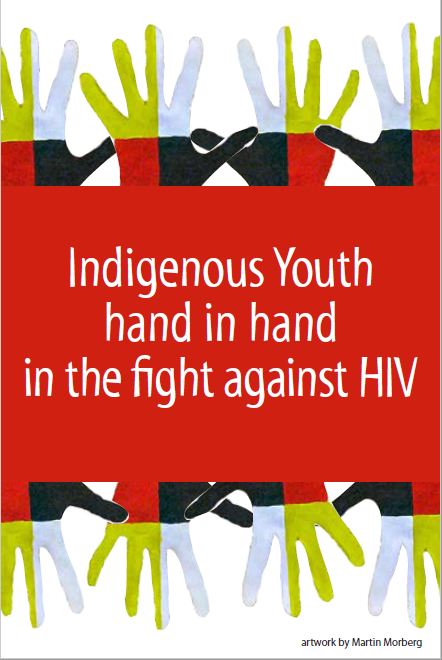 Indigenous Youth hand in hand in the fight against HIV (Get the Facts Indigenous Youth Series) [Postcard] Image