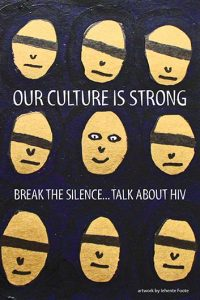 Our culture is strong. Break the silence…Talk about HIV (Get the Facts Aboriginal Youth Series) [Postcard] Image