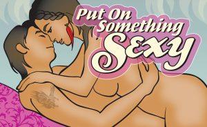Put On Something Sexy Condom Flipbook Image