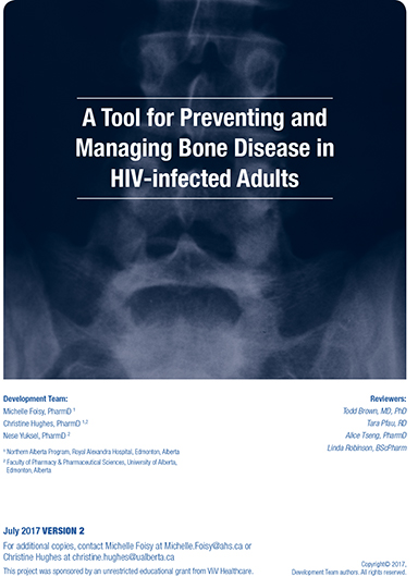A Tool for Preventing and Managing Bone Disease in HIV Infected Adults Image