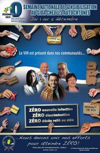 Semaine nationale de sensibilisation au sida chez les autochtones : Le VIH est présent dans nos communautés [Poster] Image