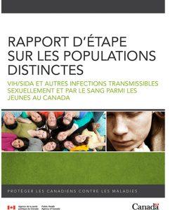 Rapport d'étape sur les populations distinctes : VIH/SIDA et autres infections transmissibles sexuellement et par le sang parmi les jeunes au Canada Image