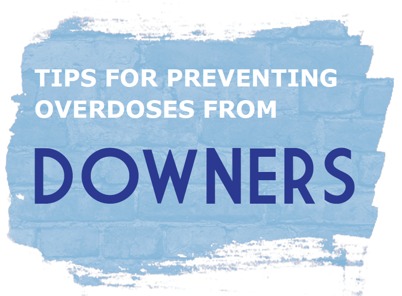 Tips for preventing overdoses from Downers [50 per package] Image