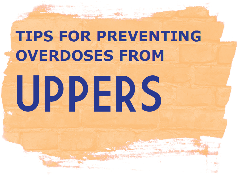 Tips for preventing overdoses from Uppers Image