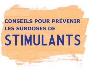 Conseils pour prévenir les surdoses de stimulants [50 per package] Image