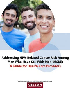 Addressing HPV-related cancer risk among men who have sex with men (MSM): A guide for health care providers Image