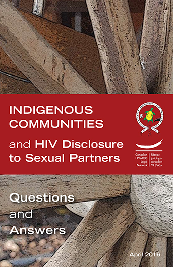 Indigenous Communities and HIV Disclosure to Sexual Partners: Questions and Answers Image