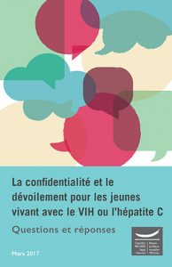 La confidentialité et le dévoilement pour les jeunes vivant avec le VIH ou l'hépatite C : Questions et réponses Image