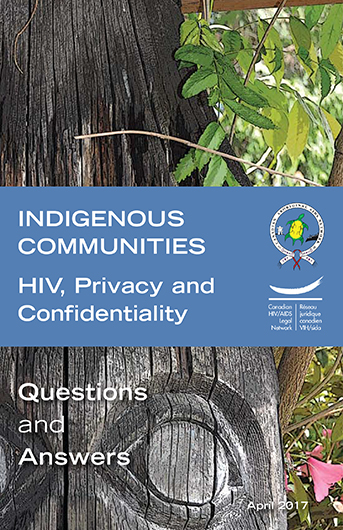 Indigenous communities: HIV, privacy and confidentiality Image