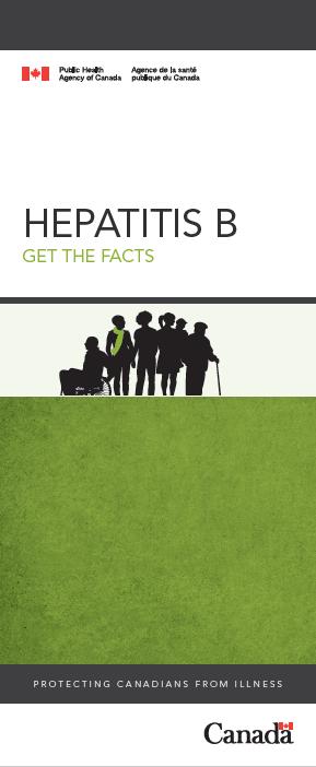Hepatitis B: Get the facts. | Hépatite B : informez-vous. Image