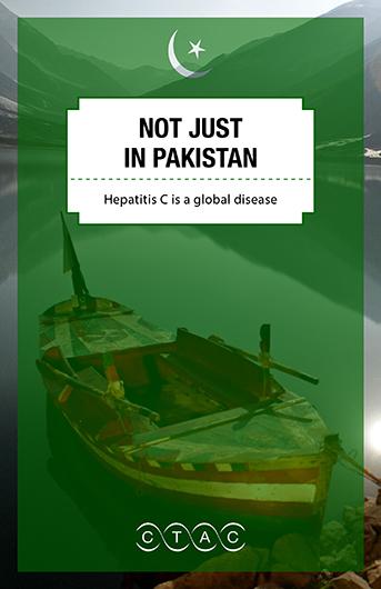Not just in Pakistan: Hepatitis C is a global disease Image