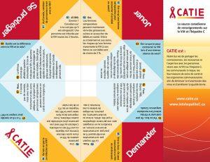 Origami de faits sur le VIH Image