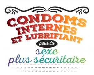 Condoms internes et lubrifiant pour du sexe plus sécuritaire [Inserts] Image