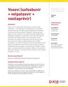 FEUILLET D'INFORMATION :  Vosevi (sofosbuvir + velpatasvir + voxilaprévir) Image