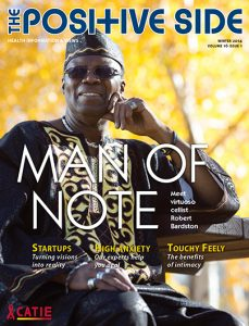 The Positive Side (Winter 2014): Man of Note Image