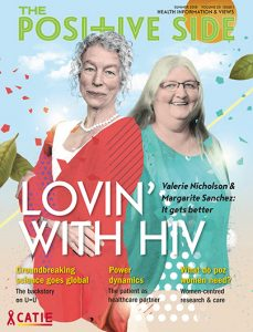 The Positive Side (Summer 2018): Lovin' with HIV Image