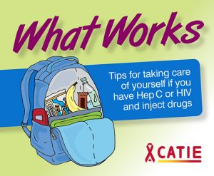 What Works: Tips for taking care of yourself if you have Hep C or HIV and inject drugs Image