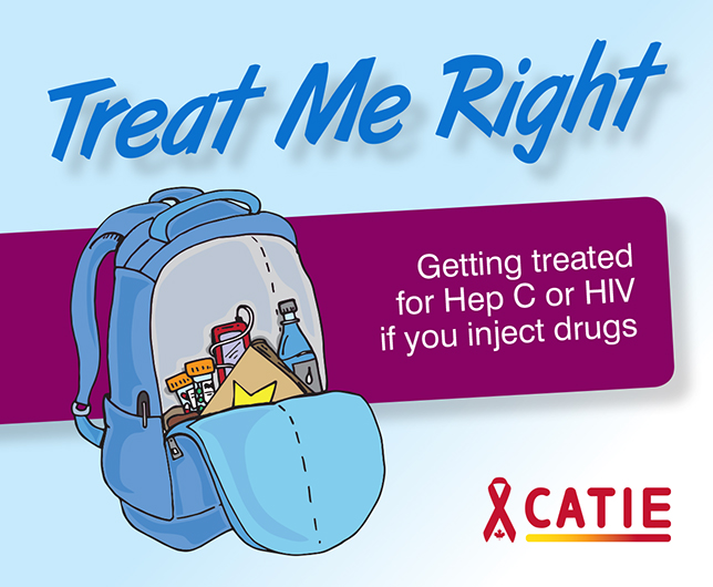 Treat Me Right: Getting treated for Hep C or HIV if you inject drugs Image