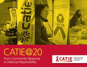CATIE 20th Anniversary Booklet/Livret du 20e anniversaire de CATIE Image