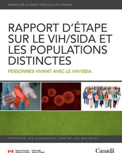 Rapport d'étape sur le VIH/sida et les populations distinctes : Personnes vivant avec le VIH/sida Image