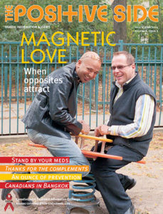 The Positive Side (Fall/Winter 2004): Magnetic Love Image