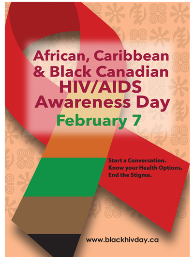 African, Caribbean and Black Canadian HIV/AIDS Awareness Day [Poster] Image