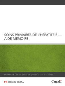 Soins primaires de l'hépatite B – Aide-Mémoire Image