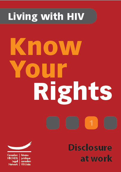 Know Your Rights 1: Disclosure at work Image