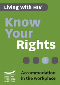 Know Your Rights 2: Accommodation in the workplace Image