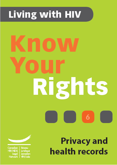 Know Your Rights 6: Privacy and health records Image
