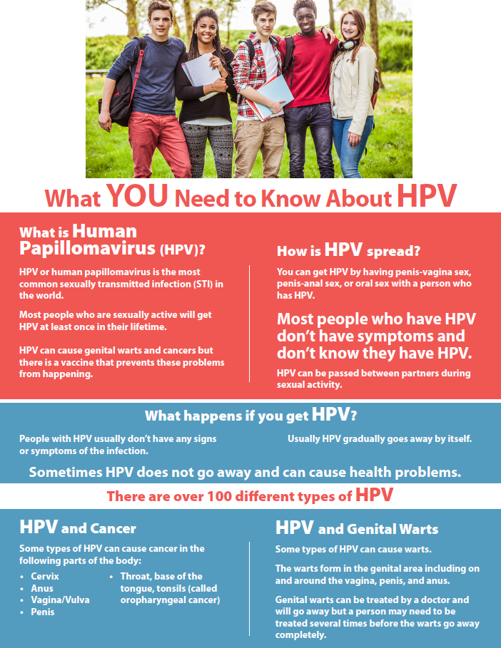 Fact sheet: What you need to know about HPV Image