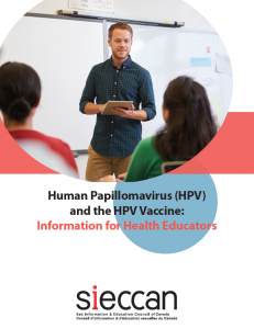 Human Papillomavirus (HPV) and the HPV Vaccine: Information for Health Educators Image