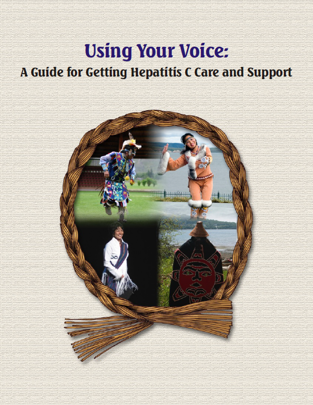 Using Your Voice: A Guide for Getting Hepatitis C Care and Support Image