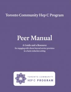 Toronto Community Hep C Program PEER MANUAL Image