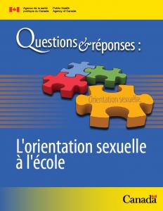 Questions et réponses : L'orientation sexuelle à l'école Image