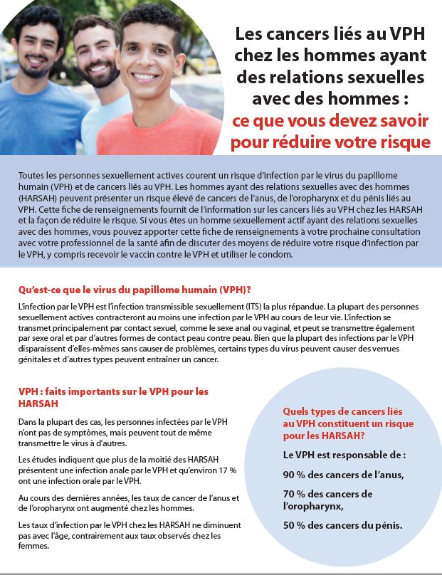 Les cancers liés au VPH chez les hommes ayant des relations sexuelles avec des hommes : ce que vous devez savoir pour réduire votre risque Image