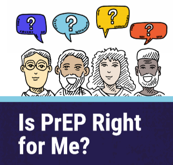 Is PrEP Right for Me? [Pocket card] Image