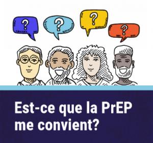 Est-ce que la PrEP me convient? [Carte-portefeuille] Image