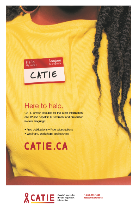 CATIE : here to help [poster] Image