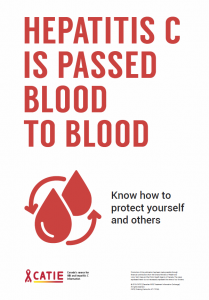 Hepatitis C Is Passed Blood to Blood [Poster] Image
