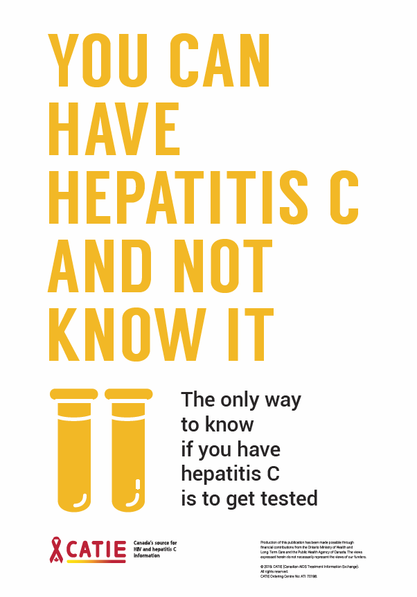 You Can Have Hepatitis C and Not Know It [Poster] Image
