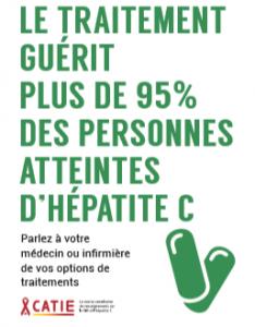 Le traitement guérit plus de 95 % des personnes atteintes d'hépatite C [Carte] Image