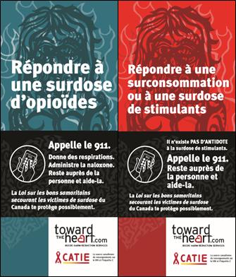 Répondre à une surdose d'opioïdes, Répondre à une surconsommation ou à une surdose de stimulants Image