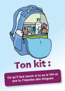 Ton kit : Ce qu'il faut savoir si tu as le VIH et que tu t'injectes des drogues Image