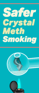 Safer Crystal Meth Smoking Image